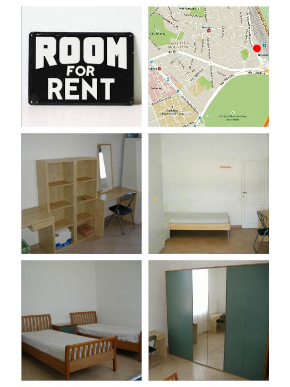 Camera singola 400 430 posto letto 280 roma x ragazzi - Posto letto roma ...