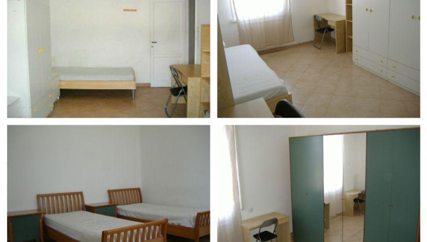 STAZIONE TIBURTINA Camere Singole 430 – Posti Letto 280 per Ragazzi Maschi