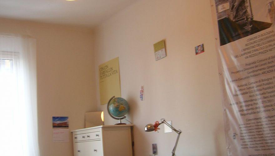 Ampia e luminosa stanza singola Bologna
