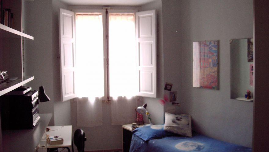 Porta Pia,  posto letto in camera singola in famiglia