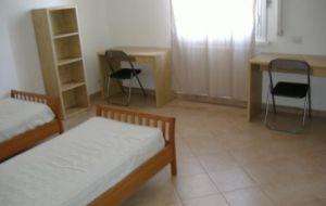 posto letto in una camera doppia